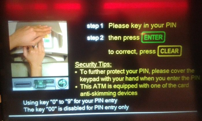 re_ATM PIN ENTER