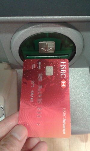 re_ATM card insert